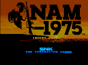 Nam-1975 - Title screen image