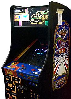 galaga and pacman machine