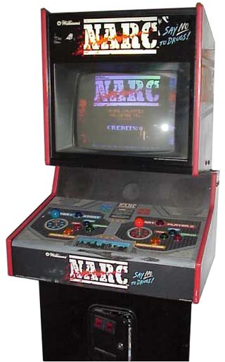 Narc Videogame By Williams Electronic Games Inc Wms
