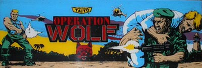 Operation Wolf Videogame By Taito