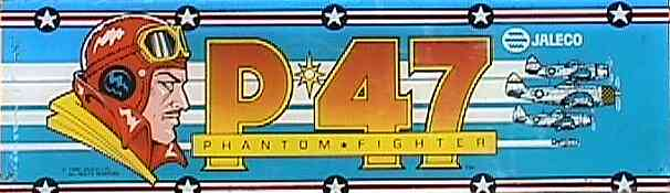 P-47: The Phantom Fighter - marquee