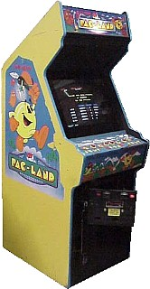 Pac Land Videogame By Bally Midway