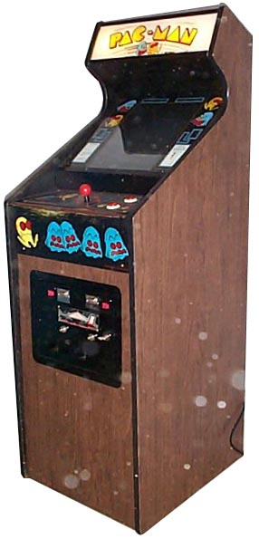 pac man arcade cabinet pac videogame by midway manufacturing co 24218