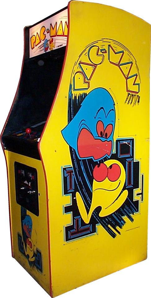 Pac Man Machine >> Pac Man Videogame By Midway Manufacturing Co