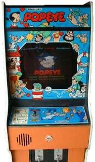 Popeye Videogame By Nintendo