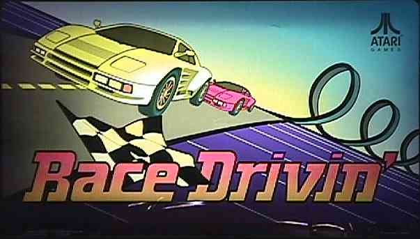 Hard Drivin Arcade