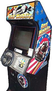 Rad Mobile Videogame By Sega