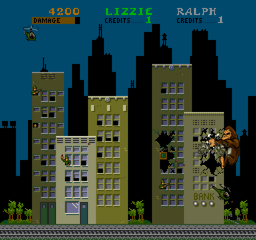 Rampage - Videogame by Bally Midway