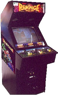 Rampage World Tour Videogame By Midway Games