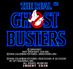 The Real Ghostbusters marquee sticker 3.25x10. Buy 3 stickers, GET ONE FREE!