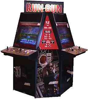 Run and gun videogame by konami