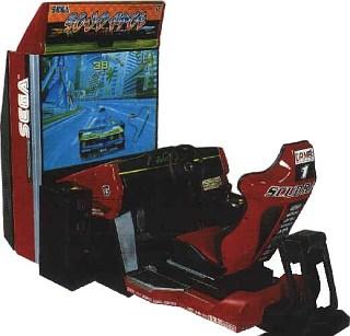 Scud Race Videogame By Sega