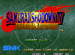 Samurai Shodown IV: Amakusa's Revenge (SNK)