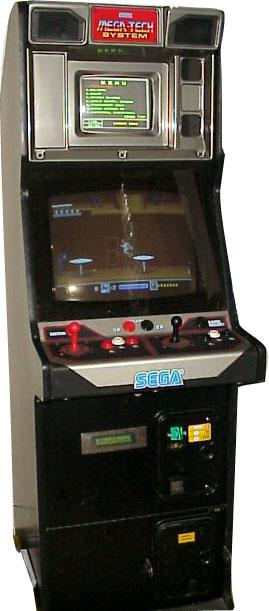 Sega Mega Tech Videogame By Sega