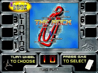 San Francisco Rush the Rock Alcatraz Dedicated Arcade Marquee 24.5″ x 7″