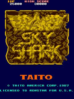 Sky Shark (Romstar)