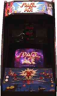 Space Ace Videogame By Cinematronics