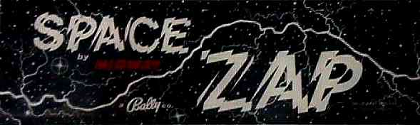 Space Zap - marquee