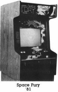 original Sega//Gremlin CONVERT-A-GAME SPACE FURY and BATTLE STAR Vector Flyer
