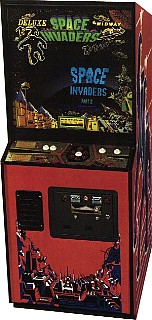 118124217180 space invaders deluxe videogame by midway manufacturing co