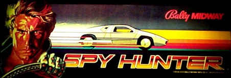 Spy Hunter - marquee