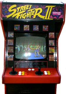 Image result for street fighter arcade machine