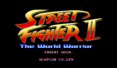 Street Fighter II - The World Warrior - Title screen image