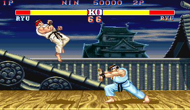 Street Fighter Ii Hyper Fighting Videogame By Capcom