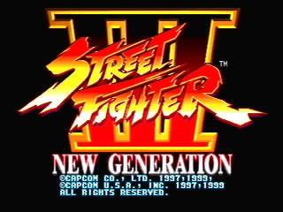 Street Fighter III - New Generation - Videogame by Capcom