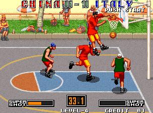 Street Hoop - Title screen image