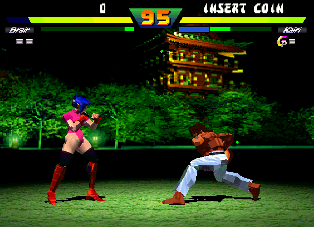 Street Fighter Ex Plus Videogame By Arika Capcom