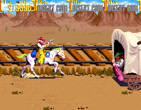 Sunset Riders - Title screen image