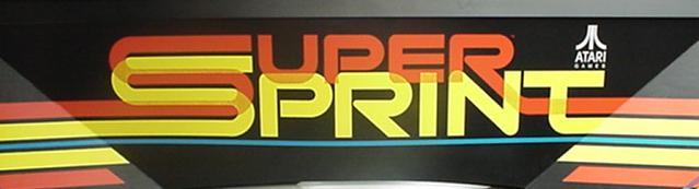 Super Sprint - marquee