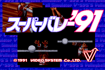 Super Volley '91 (Video System Co. Ltd.)