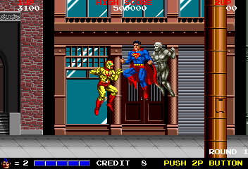 Superman Videogame By Taito