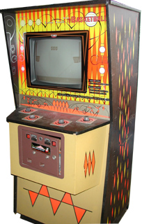 Tv Basketball Videogame By Midway Manufacturing Co