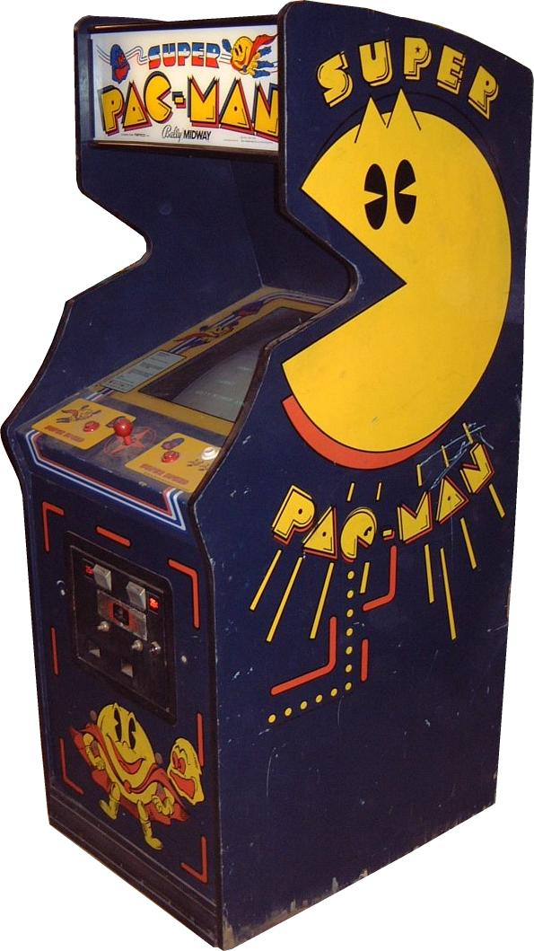 original pacman machine