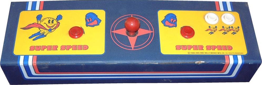 Super pac man control panel image