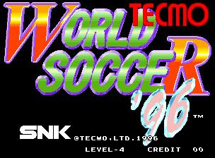 VAPS Arcade/Coin-Op Tecmo World Soccer '96 Census