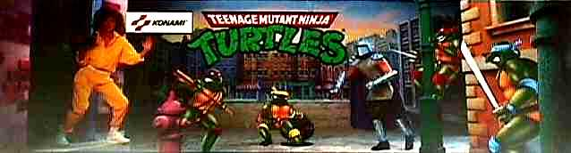 Teenage Mutant Ninja Turtles - Videogame by Konami