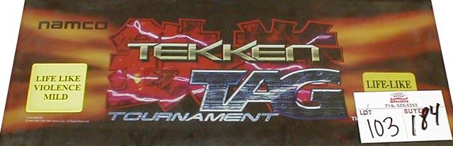 "Tekken 3 Arcade Marquee 26/"" x 8/"""