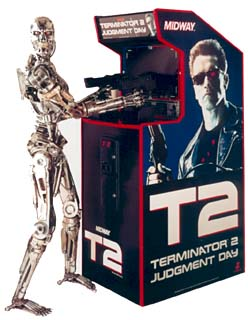 terminator 2 arcade machine