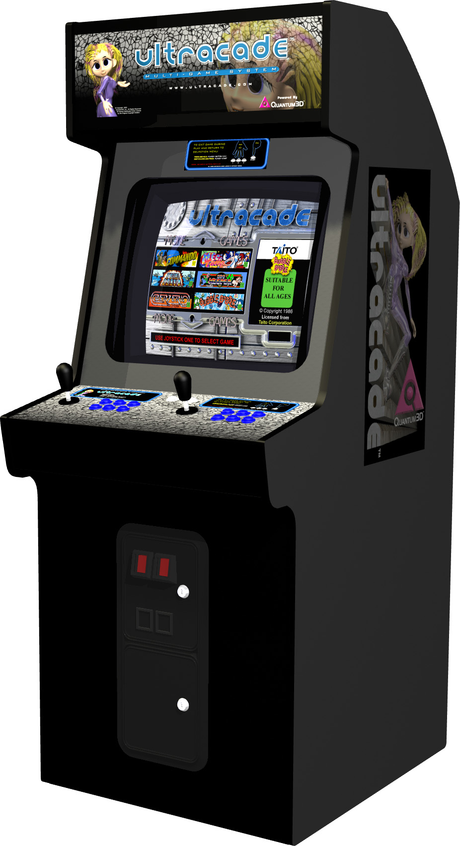 cabinet arcade games cabinets matttroy. Black Bedroom Furniture Sets. Home Design Ideas