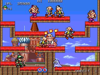 Tumblepop - Title screen image