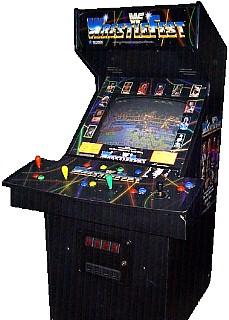 wwf arcade machine