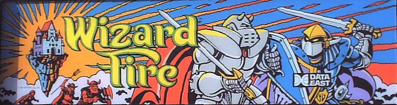 wizard fire videogame by data east