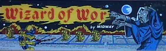 Wizard Of Wor - marquee