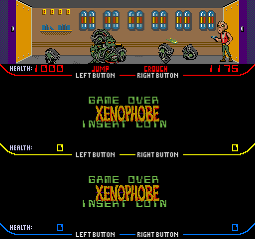 Xenophobe Videogame By Bally Midway