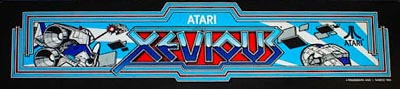 Xevious - marquee