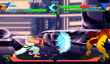 X Men Vs Street Fighter Videogame By Capcom